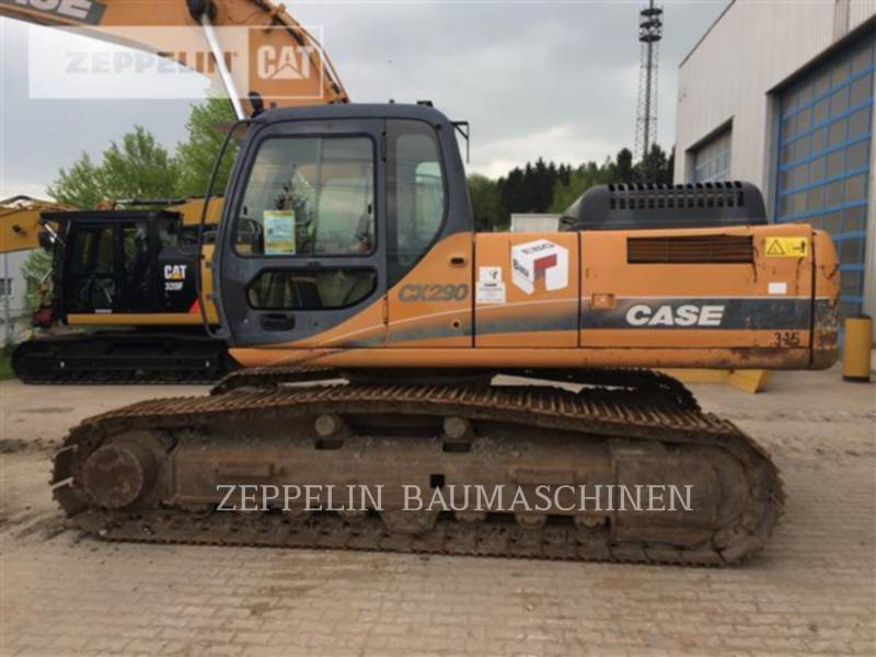 CASE PELLES SUR CHAINES CX290 equipment  photo 9