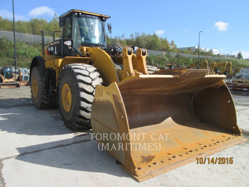 CATERPILLAR WHEEL LOADERS/INTEGRATED TOOLCARRIERS 980 M AGGREGATE HANDLER equipment  photo 2