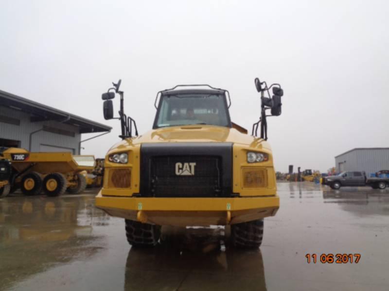 CATERPILLAR KNICKGELENKTE MULDENKIPPER 730C equipment  photo 20