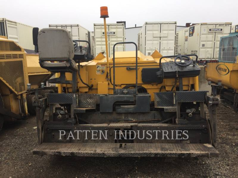 WEILER ASPHALT PAVERS P385 equipment  photo 6