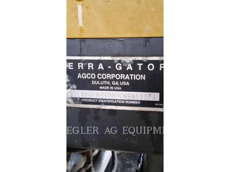 AG-CHEM Flotteurs TG8400 equipment  photo 13