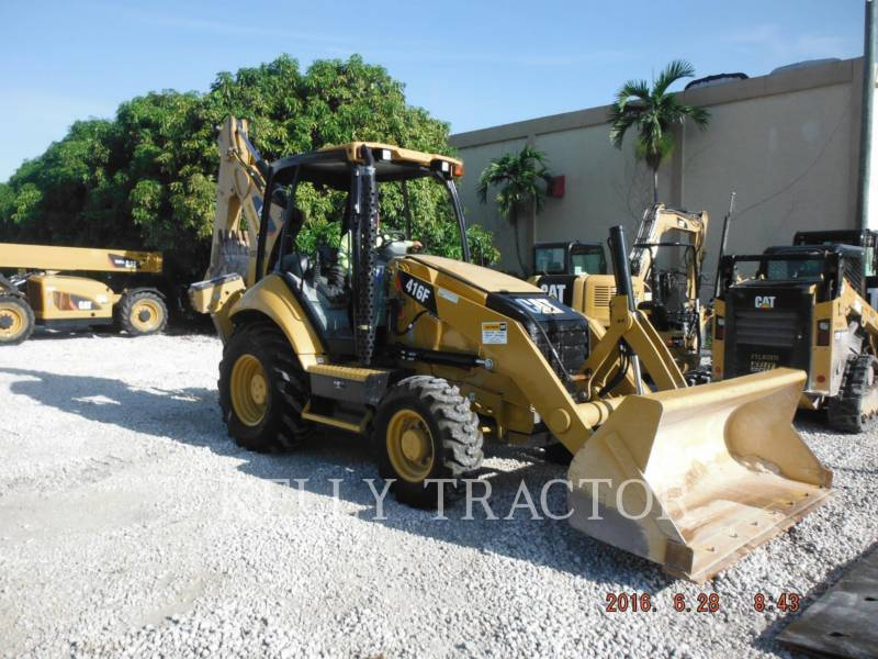 CATERPILLAR RETROESCAVADEIRAS 416FST equipment  photo 2