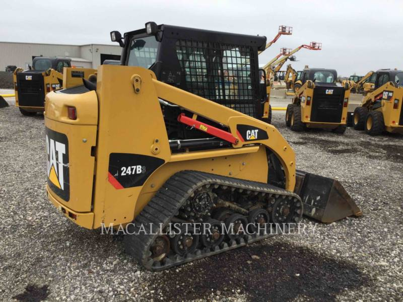 CATERPILLAR UNIWERSALNE ŁADOWARKI 247B3 equipment  photo 3