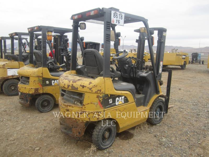 MITSUBISHI CATERPILLAR FORKLIFT ELEVATOARE CU FURCĂ DP15ND equipment  photo 2