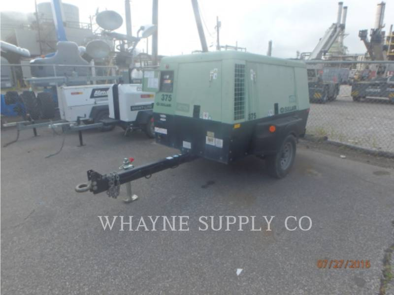 SULLAIR AIR COMPRESSOR 375CFM equipment  photo 4