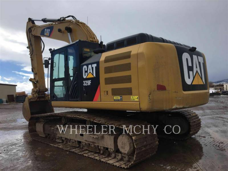 CATERPILLAR TRACK EXCAVATORS 329F L CF equipment  photo 7