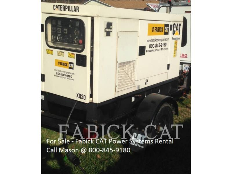 CATERPILLAR MOBILE GENERATOR SETS XQ 20 equipment  photo 1