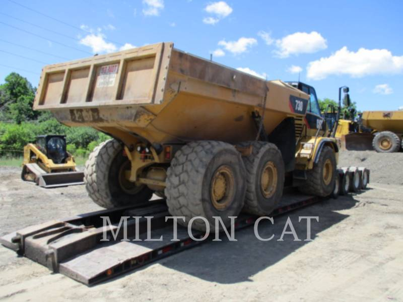 CATERPILLAR DUMPER ARTICOLATI 730 equipment  photo 4