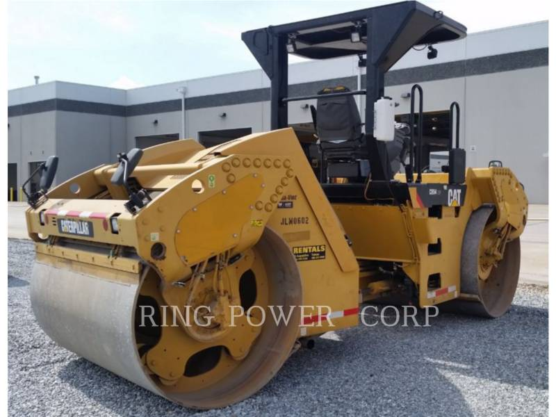 CATERPILLAR TANDEMOWY WALEC WIBRACYJNY DO ASFALTU (STAL-STAL) CB54XW equipment  photo 3