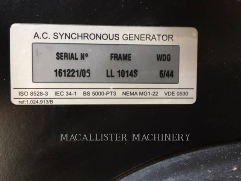 OLYMPIAN STATIONARY GENERATOR SETS G30F3 equipment  photo 11