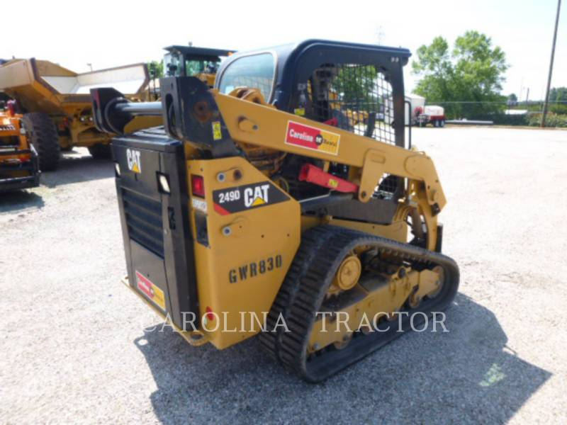 CATERPILLAR TRACK LOADERS 249D equipment  photo 5