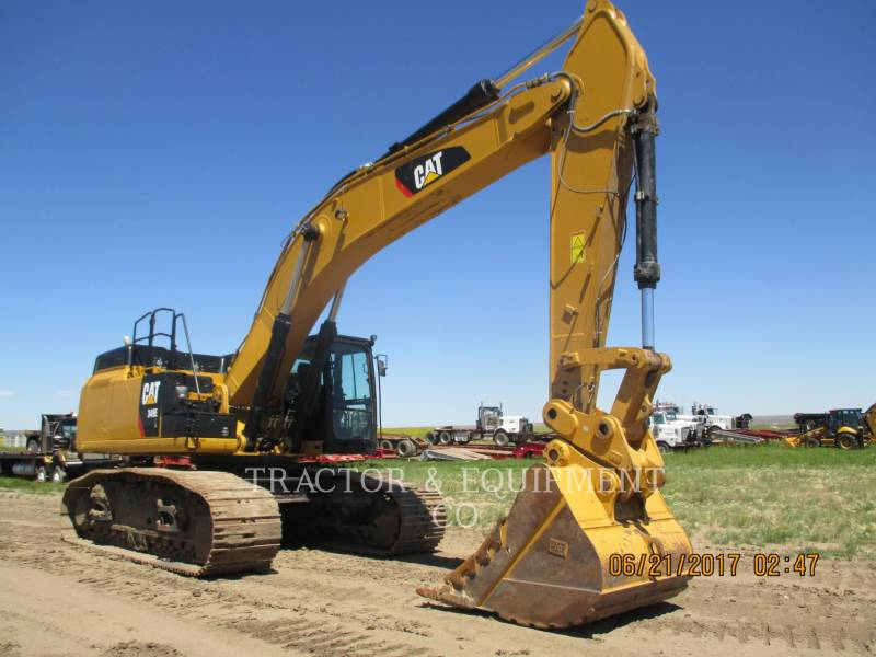 CATERPILLAR TRACK EXCAVATORS 349E LVG equipment  photo 1