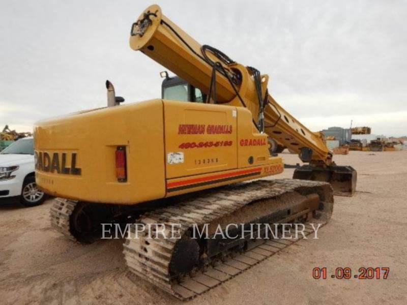 GRADALL COMPANY PELLES SUR CHAINES XL5200 equipment  photo 4