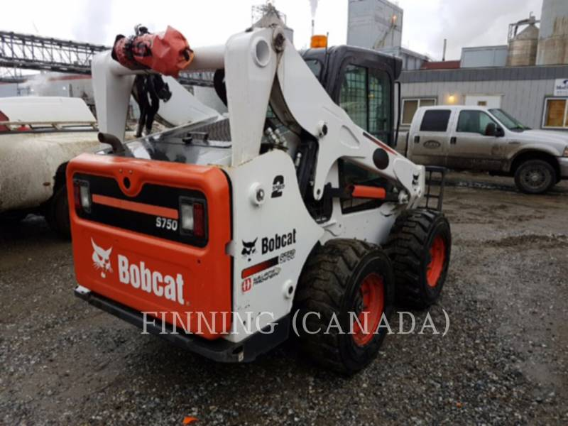 BOBCAT CHARGEURS COMPACTS RIGIDES S750 equipment  photo 4