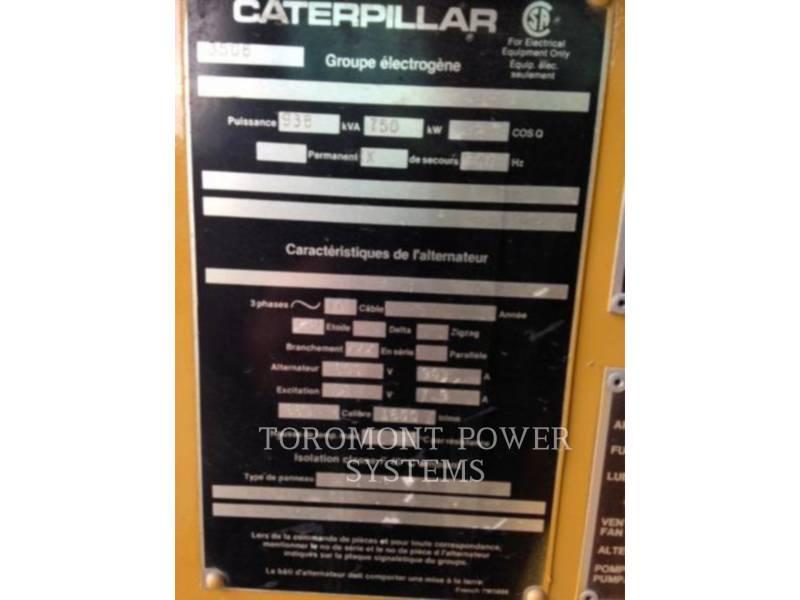 CATERPILLAR COMPOSANTS DE SYSTÈMES SR4 750KW 600V equipment  photo 3