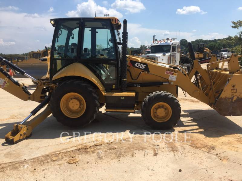 CATERPILLAR バックホーローダ 420F equipment  photo 4