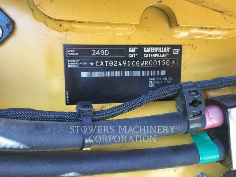 CATERPILLAR CHARGEURS TOUT TERRAIN 249D equipment  photo 7