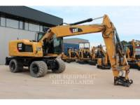 Equipment photo Caterpillar M 316 F EXCAVATOARE PE ROŢI 1
