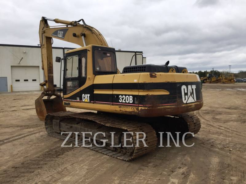 CATERPILLAR KETTEN-HYDRAULIKBAGGER 320BL equipment  photo 4