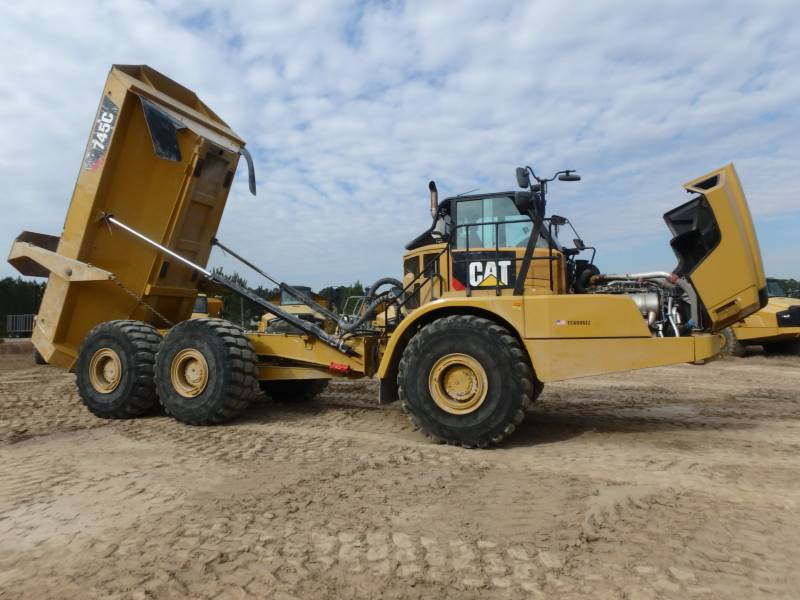 CATERPILLAR TOMBEREAUX ARTICULÉS 745C equipment  photo 10