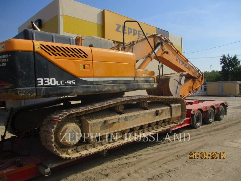 HYUNDAI CONSTRUCTION EQUIPMENT TRACK EXCAVATORS R330LC-9S equipment  photo 4