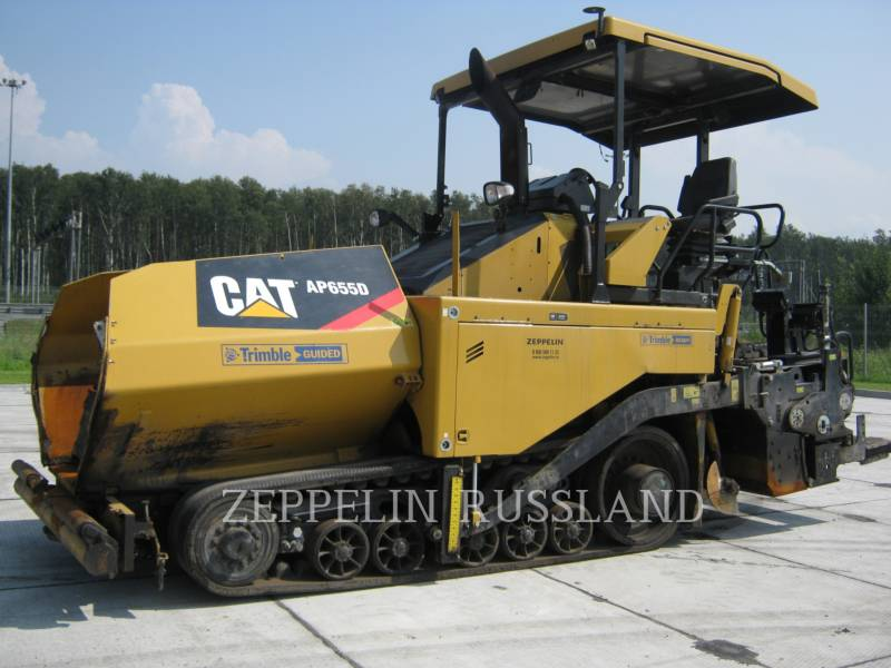 CATERPILLAR PAVIMENTADORA DE ASFALTO AP-655D equipment  photo 1
