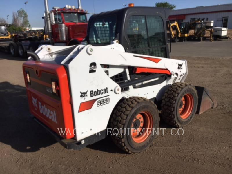 BOBCAT SKID STEER LOADERS S550 equipment  photo 4