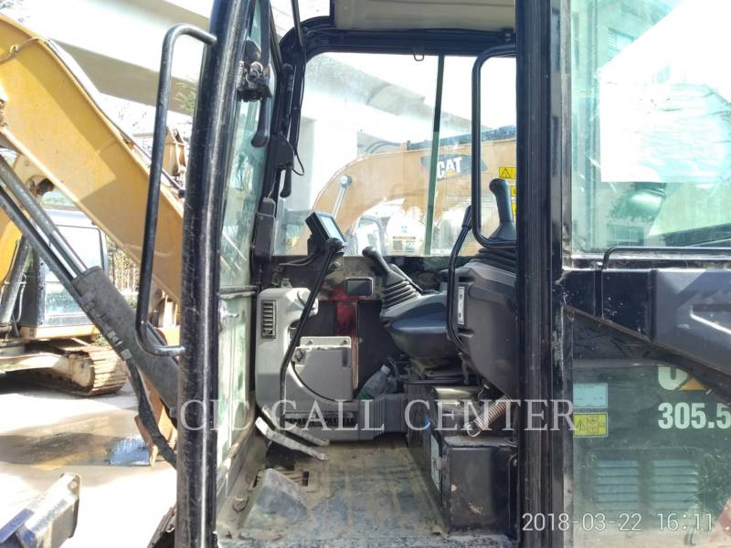 CATERPILLAR TRACK EXCAVATORS 305.5E2 equipment  photo 12