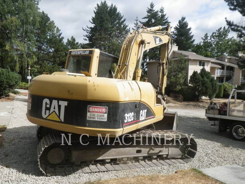 CATERPILLAR KETTEN-HYDRAULIKBAGGER 312C L equipment  photo 1