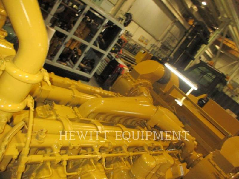 CATERPILLAR STATIONARY GENERATOR SETS 3512, 910KW 600VOLTS equipment  photo 5