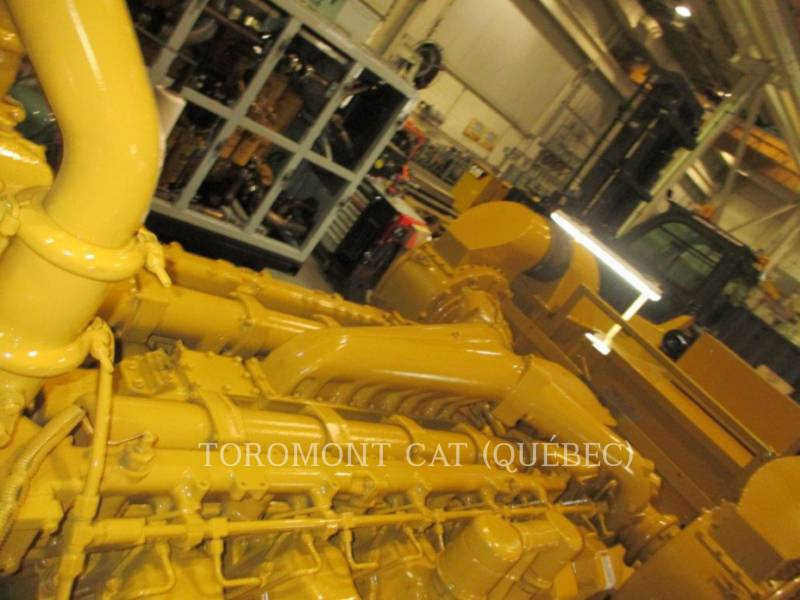 CATERPILLAR STATIONARY GENERATOR SETS 3512, 910KW 600VOLTS equipment  photo 5