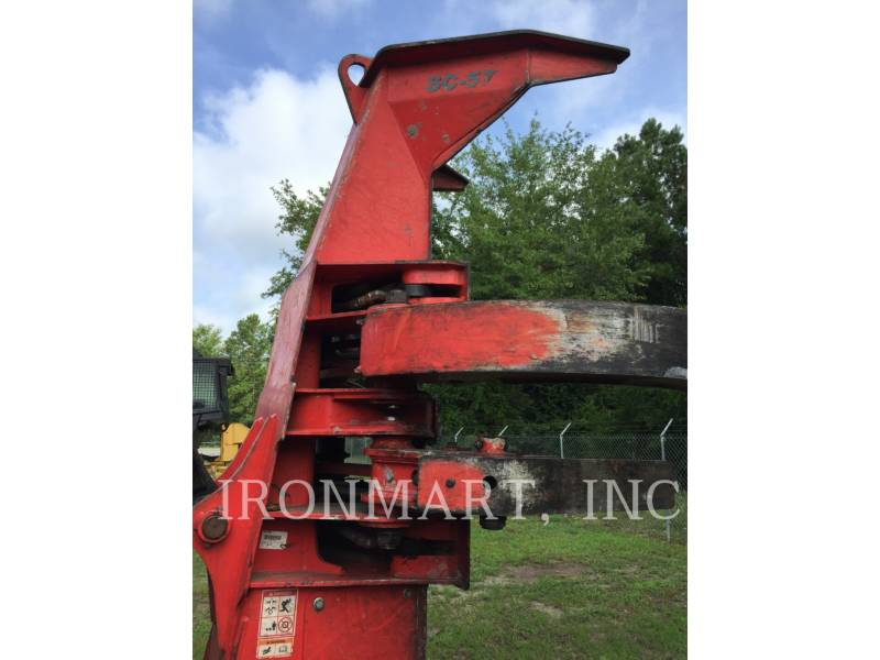 CATERPILLAR FORESTRY - FELLER BUNCHERS - WHEEL 553C equipment  photo 8