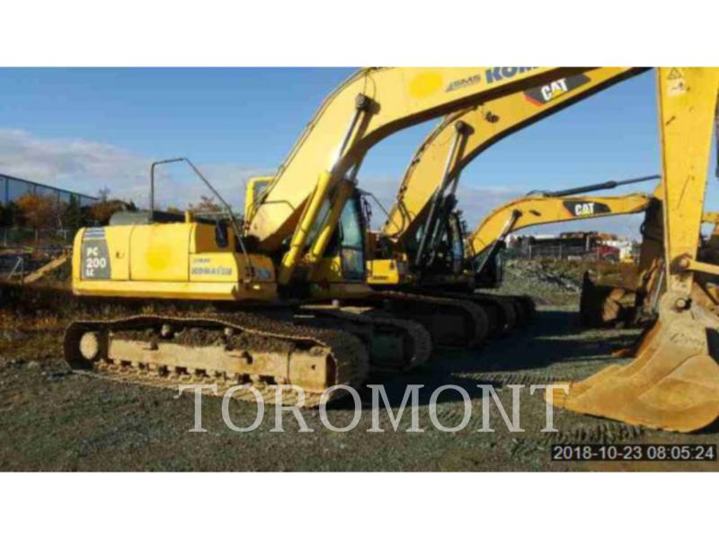 KOMATSU LTD. KETTEN-HYDRAULIKBAGGER PC200 equipment  photo 1