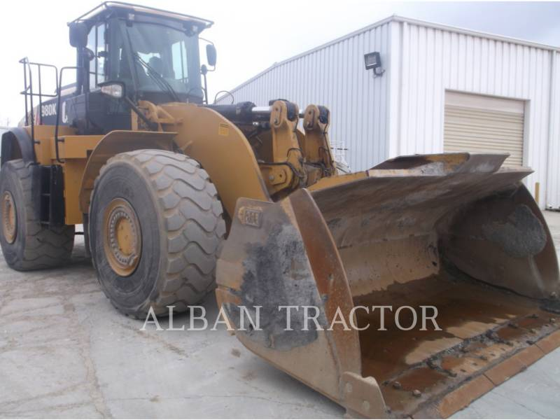 CATERPILLAR WHEEL LOADERS/INTEGRATED TOOLCARRIERS 980K DCA2 equipment  photo 1