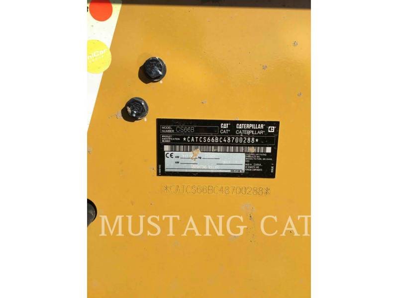 CATERPILLAR PAVIMENTADORA DE ASFALTO CS66B equipment  photo 6
