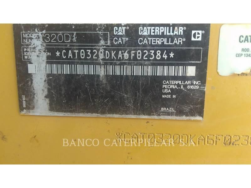CATERPILLAR ESCAVATORI CINGOLATI 320D equipment  photo 24