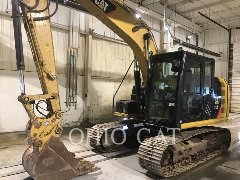 CATERPILLAR PELLES SUR CHAINES 312EL TC equipment  photo 2