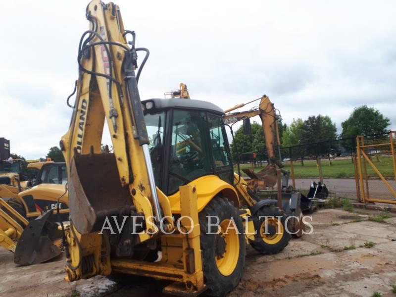NEW HOLLAND LTD. BACKHOE LOADERS B100C equipment  photo 2