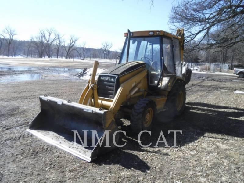 CATERPILLAR BACKHOE LOADERS 416B equipment  photo 1