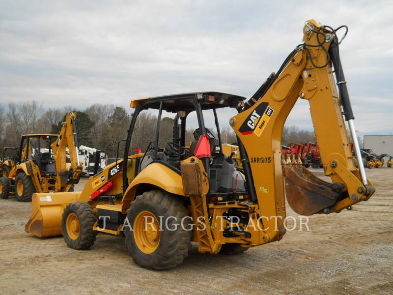 CATERPILLAR RETROEXCAVADORAS CARGADORAS 420F 4E equipment  photo 4