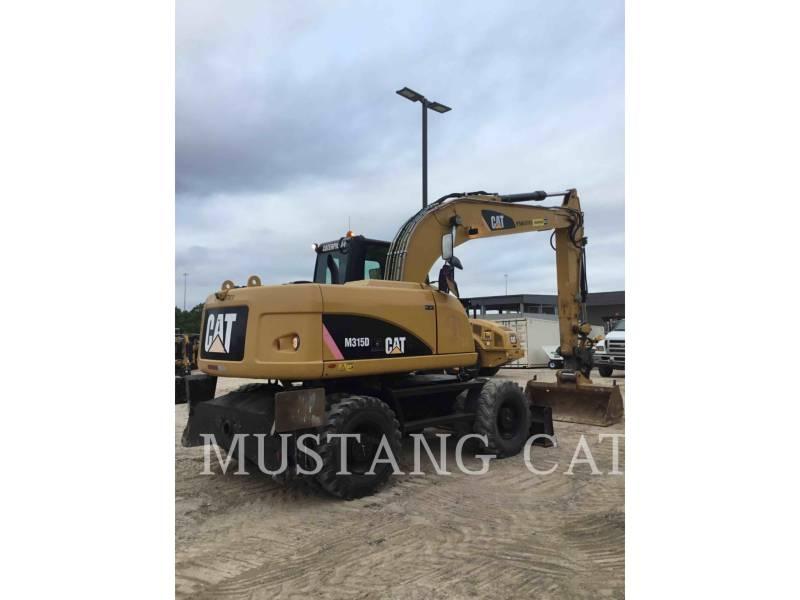 Caterpillar EXCAVATOARE PE ROŢI M315D equipment  photo 3