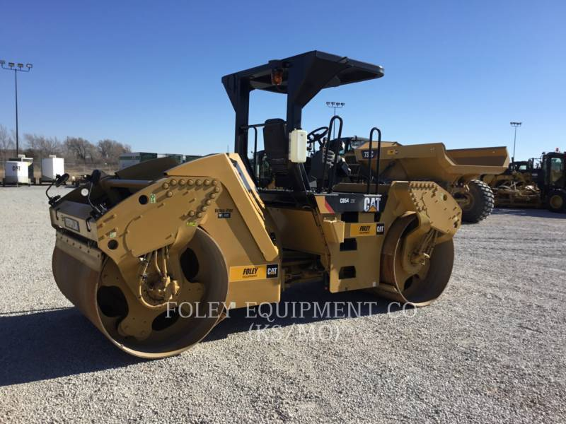 CATERPILLAR TAMBOR DOBLE VIBRATORIO ASFALTO CB54XW equipment  photo 3