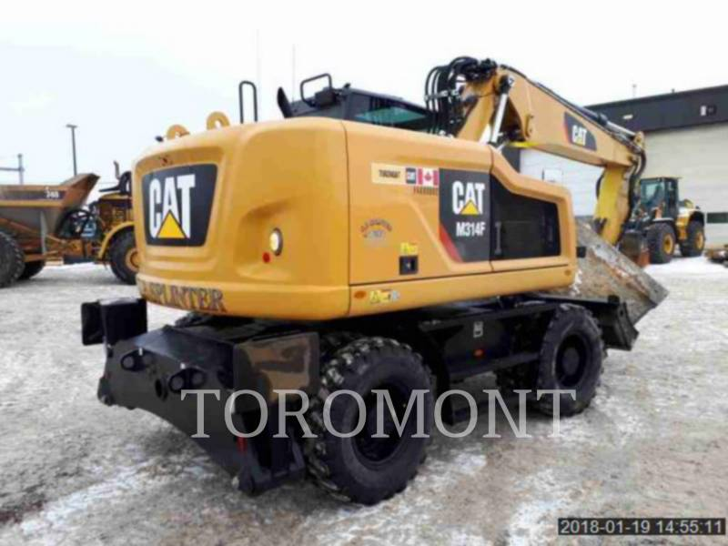 CATERPILLAR PELLES SUR CHAINES M314F equipment  photo 4
