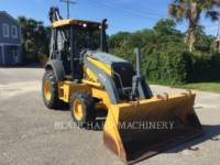 Equipment photo JOHN DEERE 410K BAGGERLADER 1