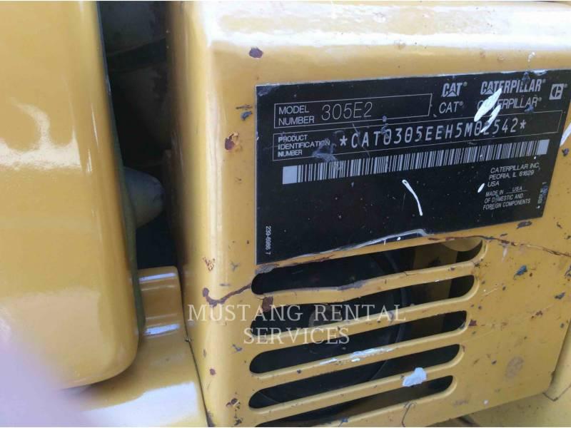 CATERPILLAR KETTEN-HYDRAULIKBAGGER 305E2CR equipment  photo 7