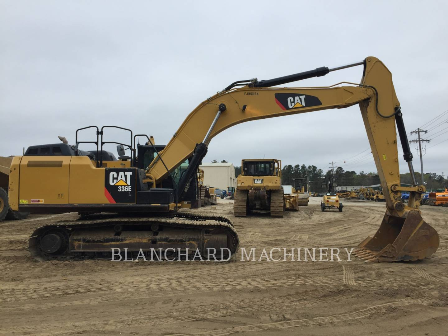 All About Cat Equipment For Sale Caterpillars Used Komatsu Fg Forklift Wiring Diagram 30011 2014 Caterpillar 336el 11839551 From Blanchard