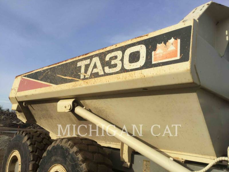 TEREX CORPORATION TOMBEREAUX ARTICULÉS TA30 equipment  photo 20