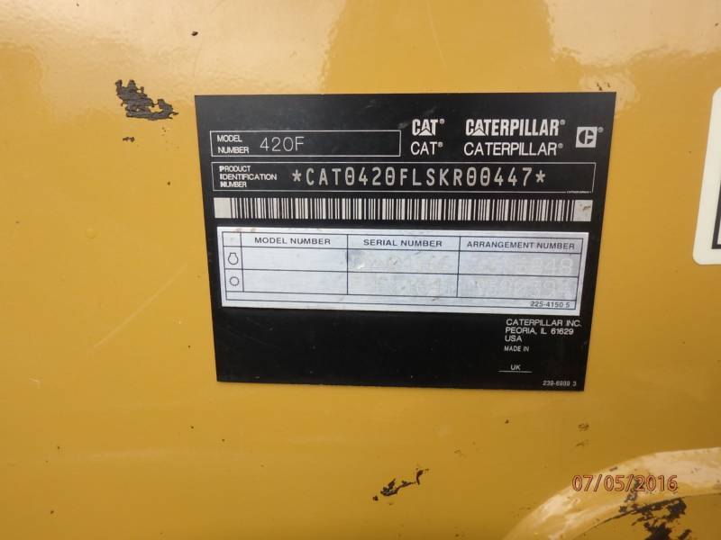 CATERPILLAR CHARGEUSES-PELLETEUSES 420FST equipment  photo 13