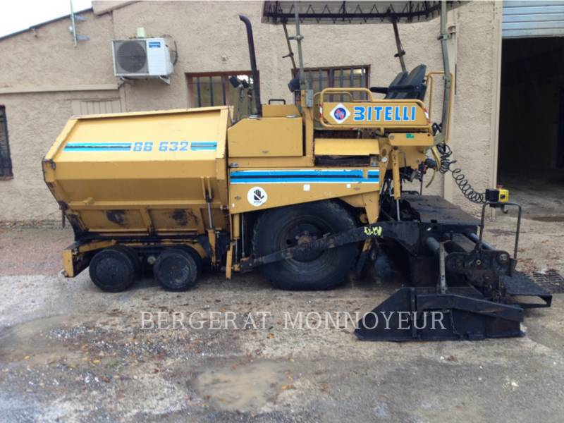 BITELLI S.P.A. PAVIMENTADORA DE ASFALTO BB632 equipment  photo 1
