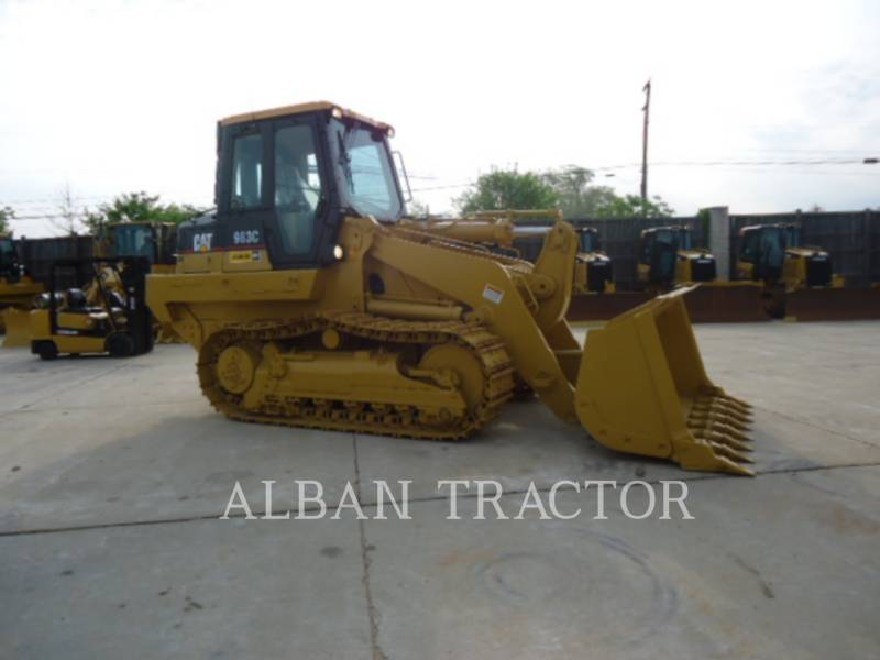 CATERPILLAR TRACK LOADERS 963C CAC equipment  photo 6